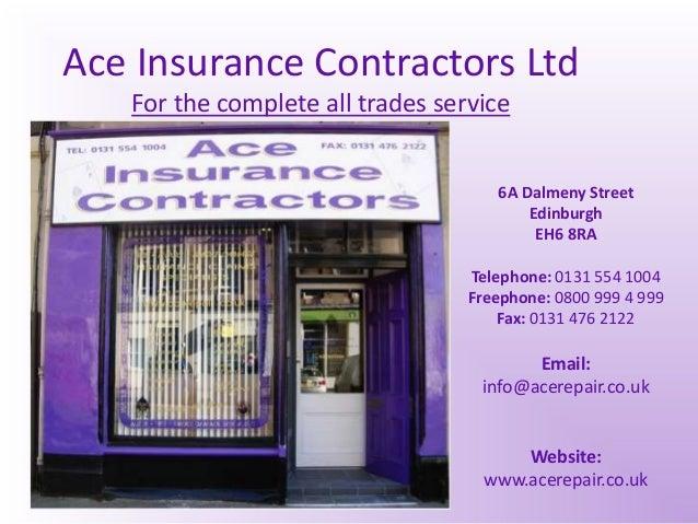 Ace Insurance Contractors Powerpoint   Copy   Copy