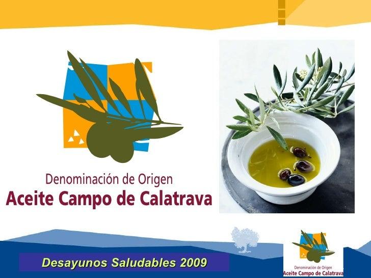 Desayunos Saludables 2009 Presentación Introducción