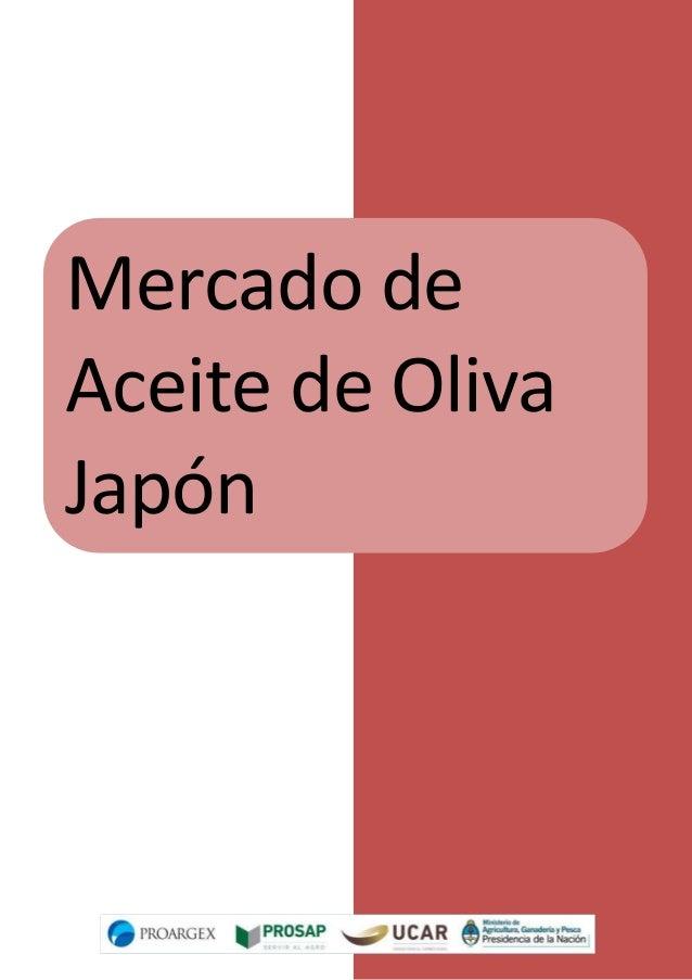 Mercado de Aceite de Oliva Japón Estudio de Mercado