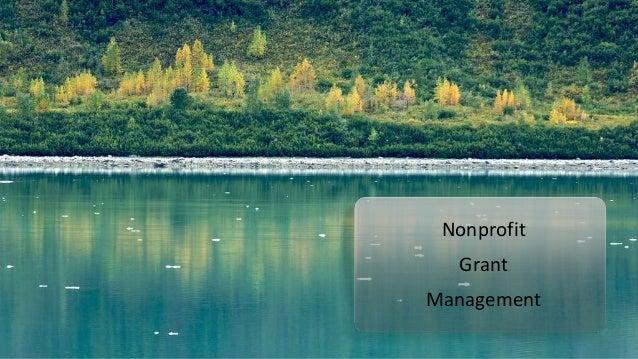 Non-Profit Grant Management