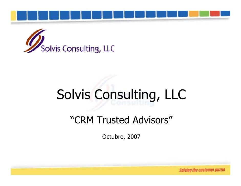 Acerca De Solvis Consulting