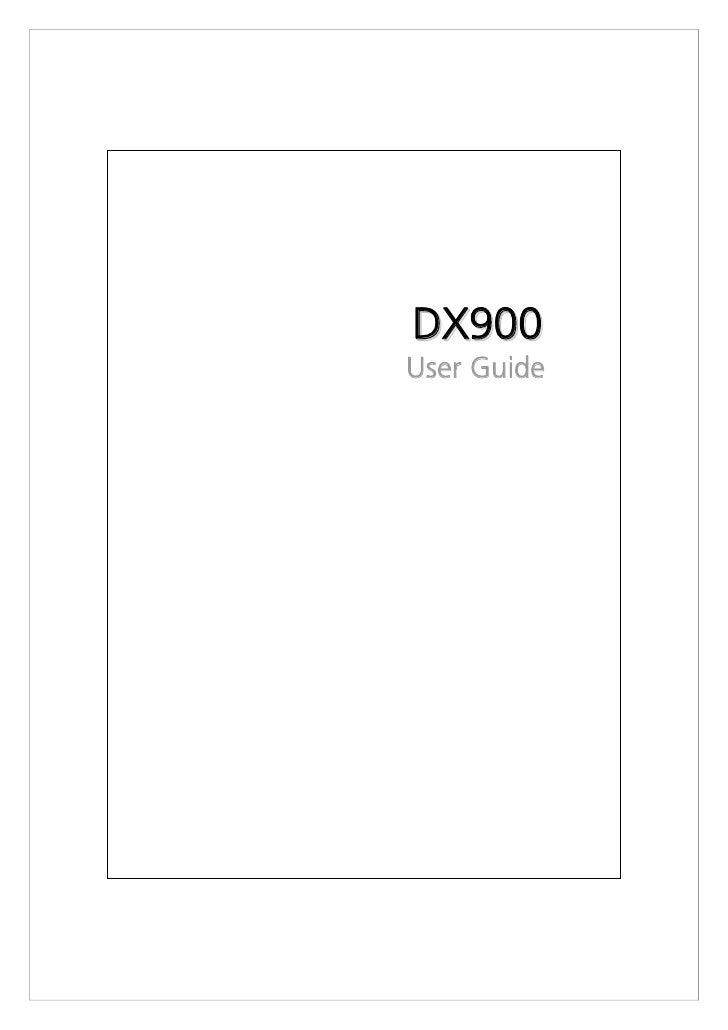 D X90 0 User Guide