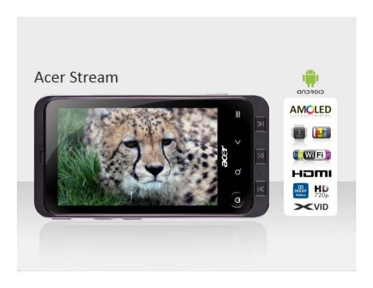 Acer stream   avantages compétitifs et présentation détaillée de l'interface utilisateur v9