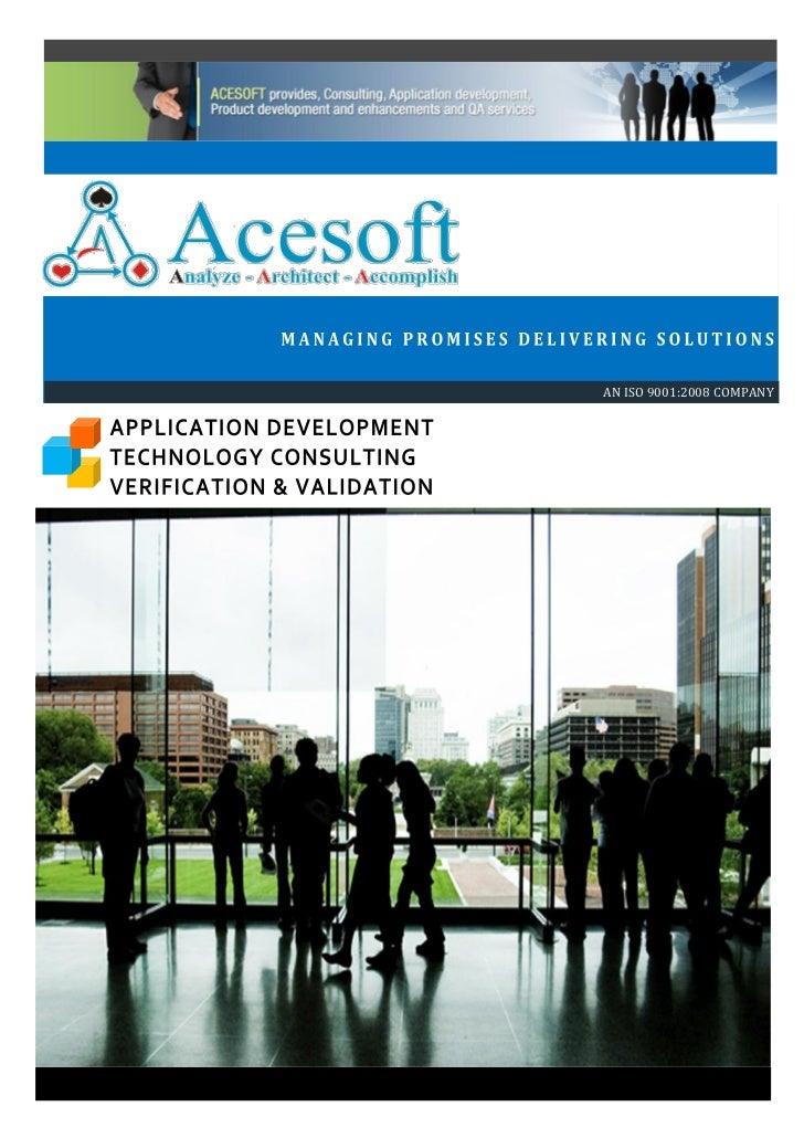 Acesoft Brochure July011
