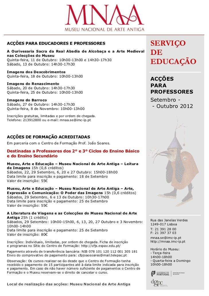 Acções professores setembro 2012