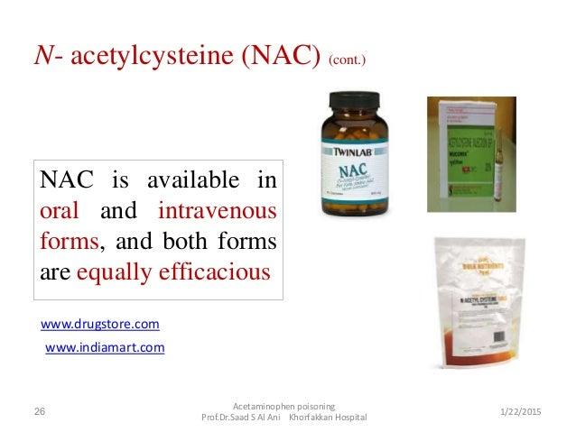 Acetylcysteine for Acetaminophen Poisoning  NEJM