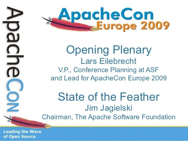 Apache State of the Feather 2009