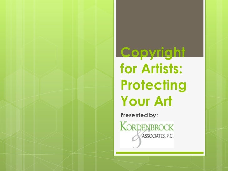 Copyright for Artists: Protecting Your Art