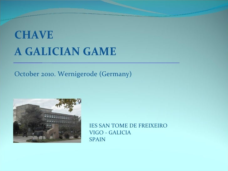 A chave galician_game