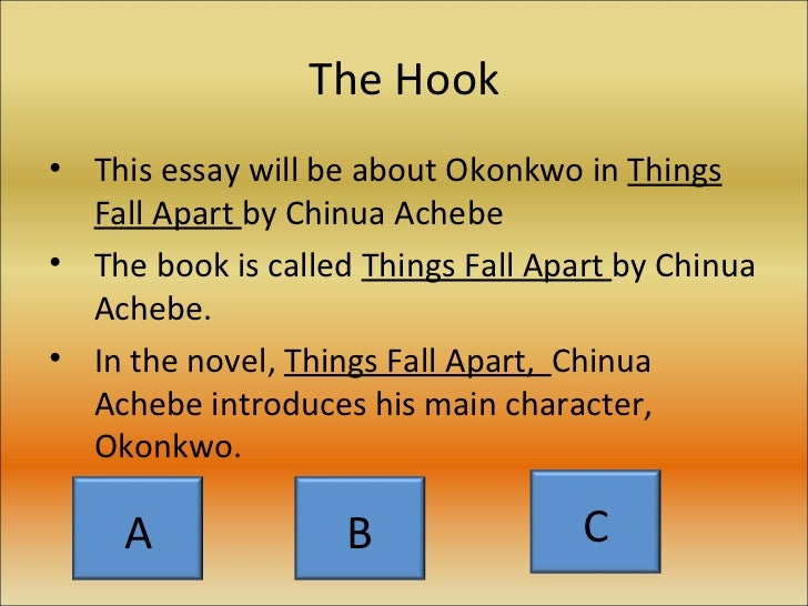 okonkwo character essay Myles noland red id: 814212367 3/1/14 prof reddick afras 260 character analysis of okonkwo there are many ways to tell a great story for the enjoyment.