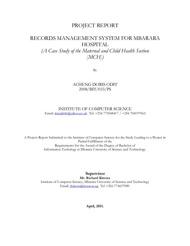 patient record system thesis Electronic medical records, healthcare, and the patient the united states healthcare system stands on the brink of a and the patient a thesis submitted to the.