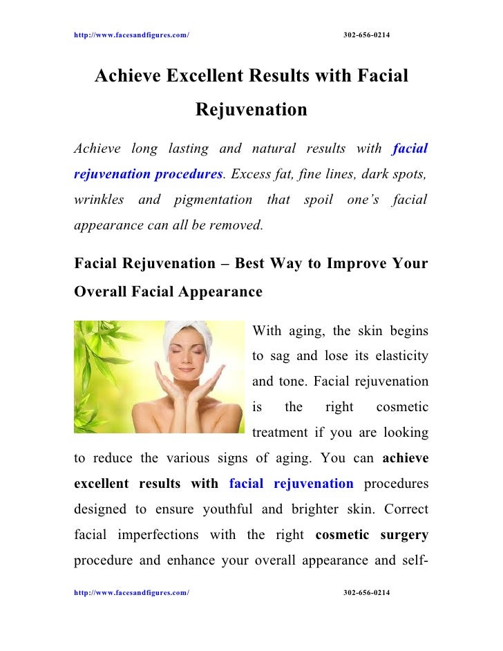 http://www.facesandfigures.com/                        302-656-0214     Achieve Excellent Results with Facial             ...