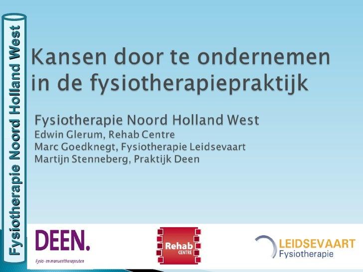 Fysiotherapie Noord Holland West