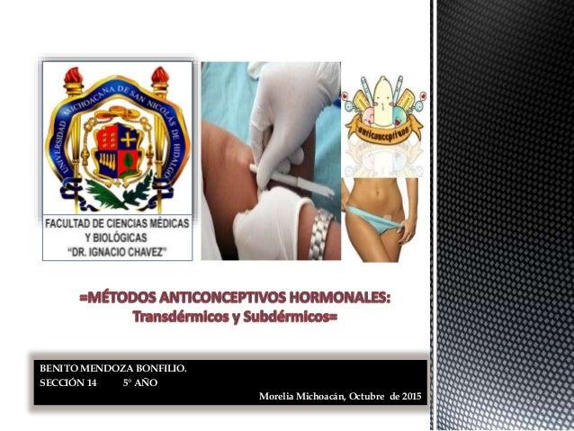 BENITO MENDOZA BONFILIO. SECCIÓN 14 5° AÑO Morelia Michoacán, Octubre de 2015