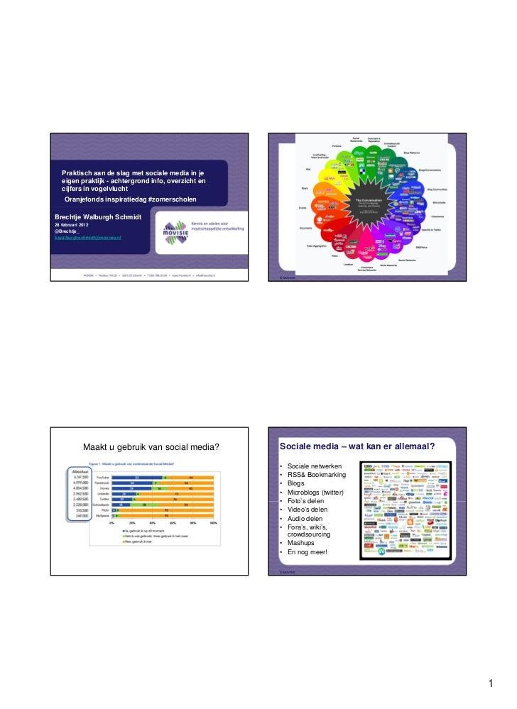 Praktisch aan de slag met sociale media in je   eigen praktijk - achtergrond info, overzicht en   cijfers in vogelvlucht  ...