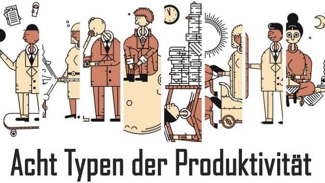 Acht Typen der Produktivität