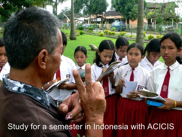 Study for a semester in Indonesia with ACICIS