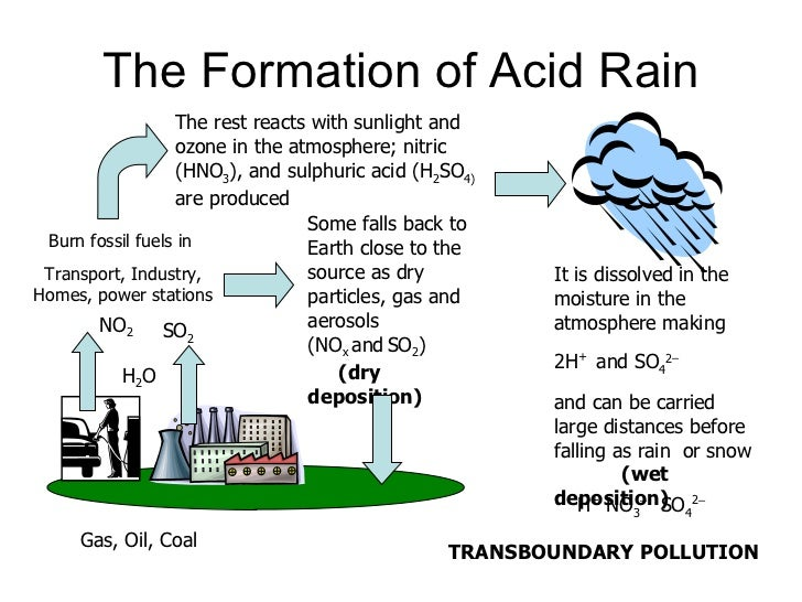 "acid rain a contemporary world It is thought that the acid rain dates back to the end of 19th century although it is commonly known as ""acid rain"", this title refers to fog, snow, sleet and rain that contain acid in higher amounts than normal the main causes of acid rains are chemical compounds sulfur dioxide and nitrogen oxide."
