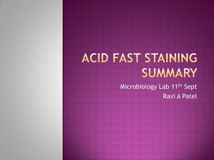 Acidfaststaining 090911062148 Phpapp02