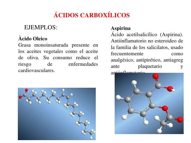 Acidos Carboxilicos ácidos Carboxílicos Ejemplos