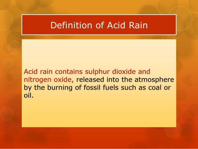 acid rain investigation essay What is the effect of acid rain on vegetation what is the relationship between acidity and plant growth.