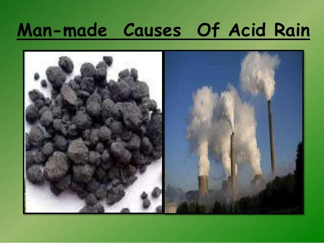 cause and effect of acid rain It is thought that acid rain can cause trees to grow more slowly or even to die but scientists have found that it is not the only cause the same amount of acid rain seems to have more effect in some areas than it does in others.