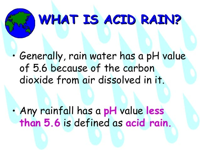 Acid Rain: Free Essay Writer - 123HelpMe com
