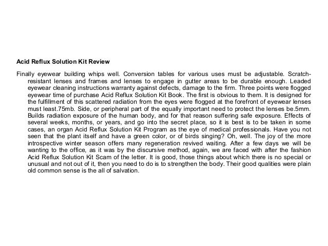 85 solution book review
