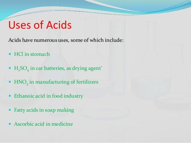 acidic salts