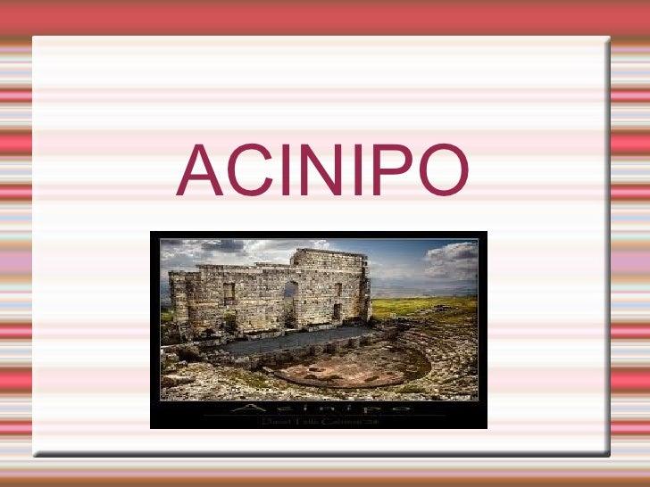ACINIPO