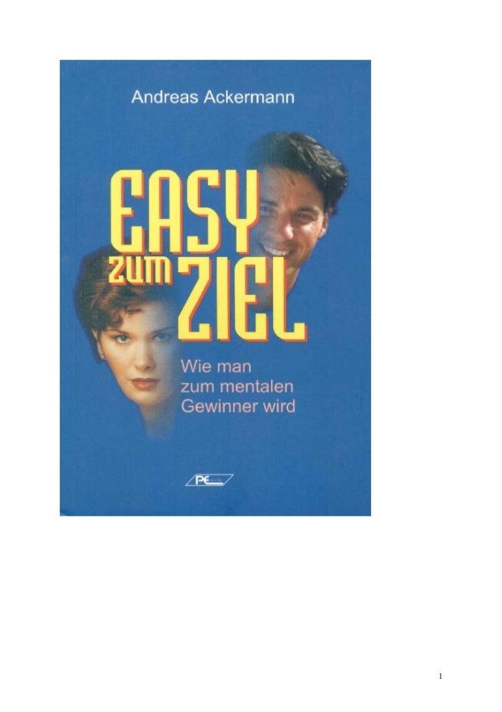 Ackermann easy-zum-ziel