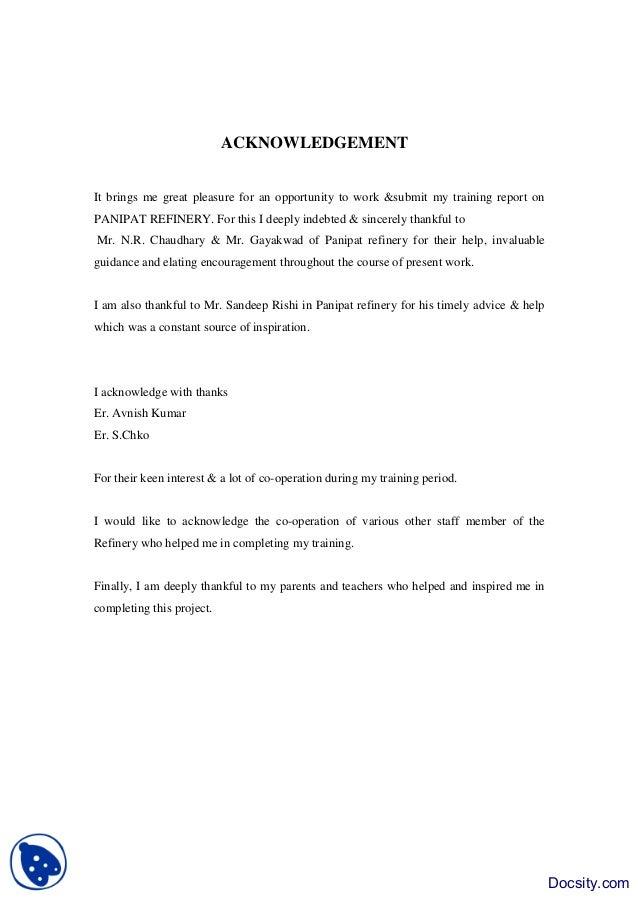 Standard short essay format