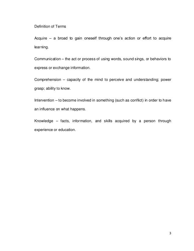 example of acknowledgement in research paper Examples used in this sample research paper have been quoted another special  21 an example table showing how centering works with extended captioning 9.