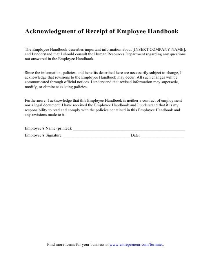 Acknowledgement Form Template - Vosvete.Net