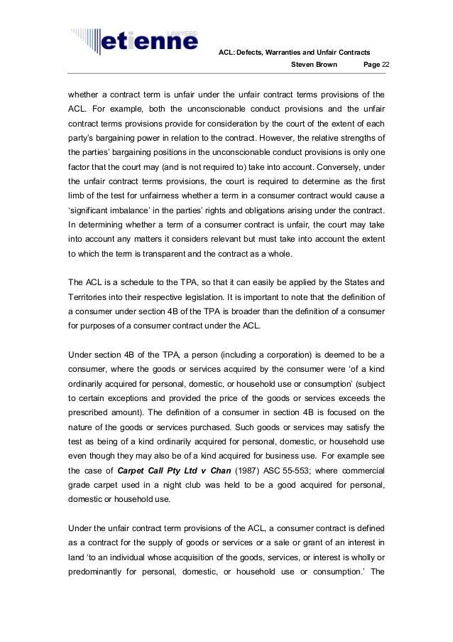 contract law case studies australia