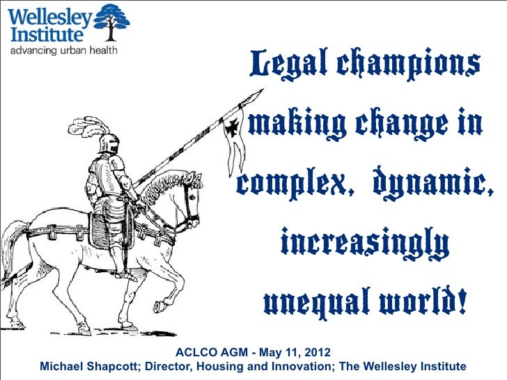 Legal champions                                    making change in                                  complex, dynamic,    ...