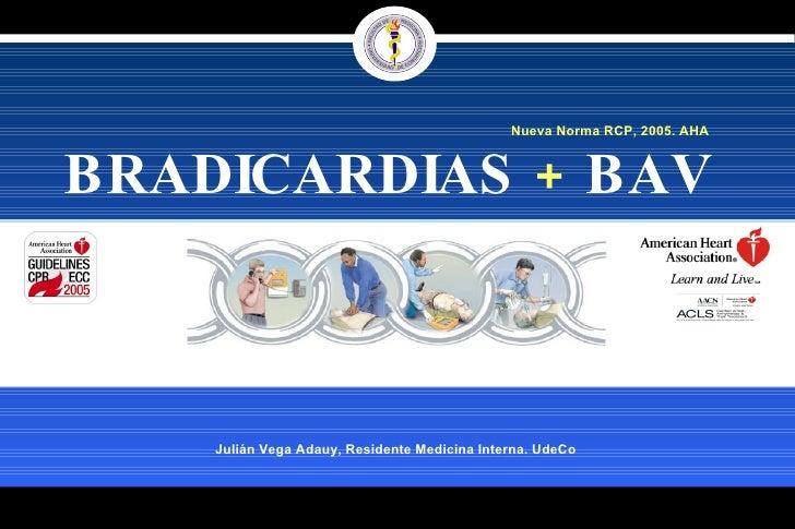 Bradicardia Manejo ACLS