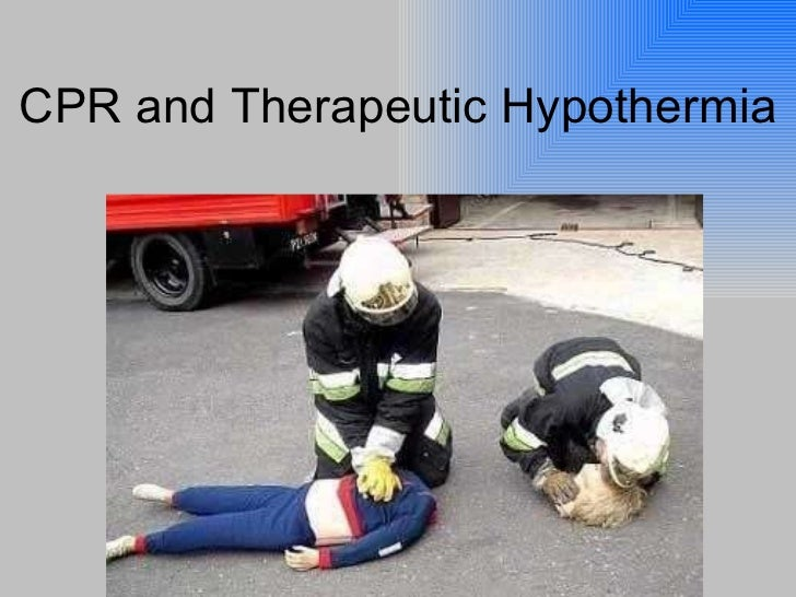 ACLS/ Theraputic Hypothermia presentation