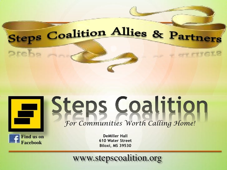 For Communities Worth Calling Home!Find us on              DeMiller Hall                      610 Water StreetFacebook    ...