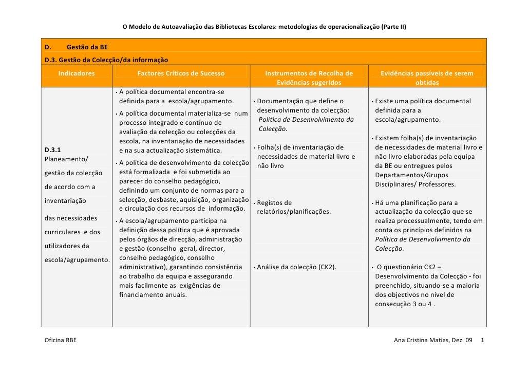 Acmatias Tabela   Metodologias De OperacionalizaçãO Parte Ii