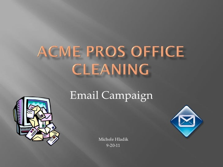 Acme email campaign