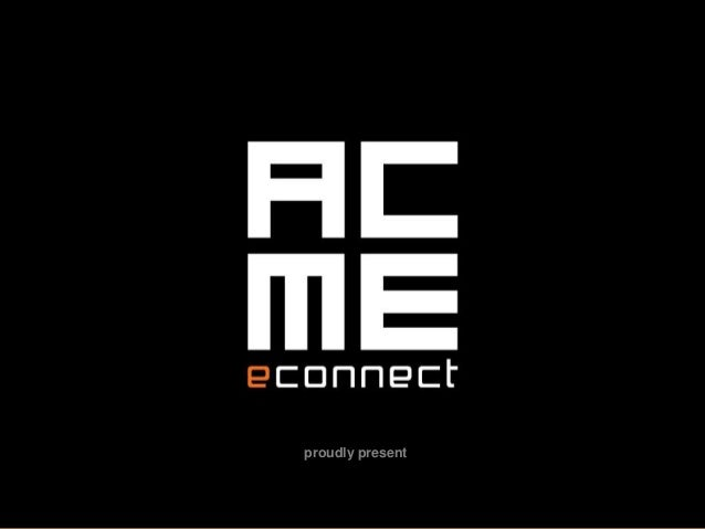 Social Media Marketing - Acme E Connect
