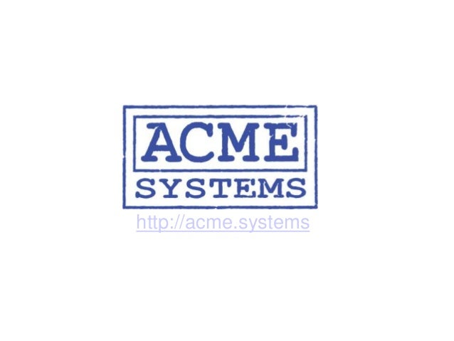 http://acme.systems