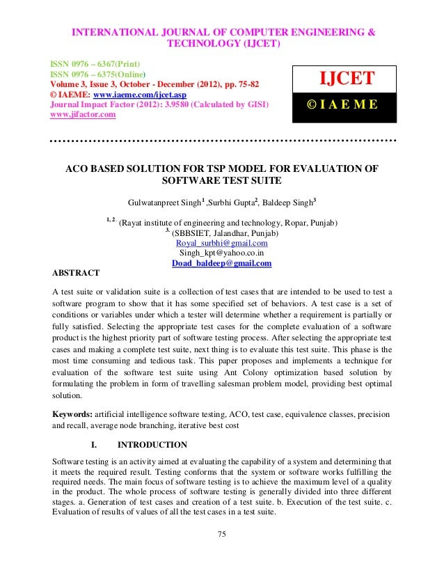 International Journal of Computer Engineering andCOMPUTER ENGINEERING &     INTERNATIONAL JOURNAL OF Technology (IJCET), I...