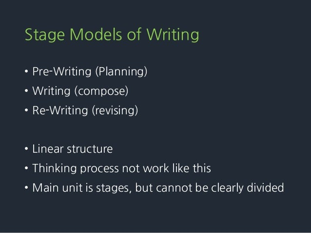Process theory of writing essay