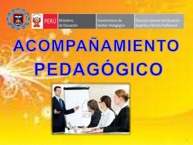 Acompañamiento pedagogico