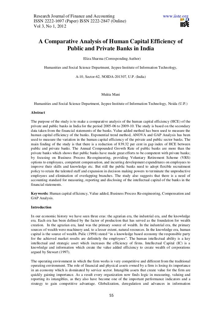 Research Journal of Finance and Accounting                                             www.iiste.org ISSN 2222-1697 (Paper...