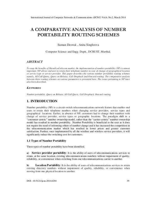 International Journal of Computer Networks & Communications (IJCNC) Vol.6, No.2, March 2014 DOI : 10.5121/ijcnc.2014.6204 ...