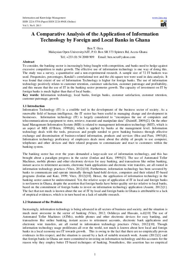 Information and Knowledge Management  www.iiste.org  ISSN 2224-5758 (Paper) ISSN 2224-896X (Online) Vol.3, No.9, 2013  A C...