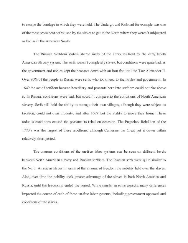 Slavery In The South Essay Research Paper - Реферат   Litsoch ru